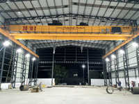 30-10T Double Girder EOT Overhead Crane with Auxiliary Crab