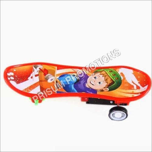 Plastic Toy Pull Back Skateboard