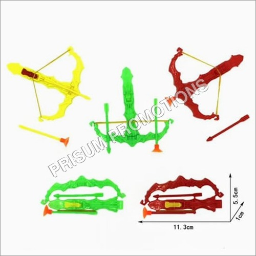 Plastic Toy Bow And Arrow