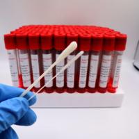 Virus sampling swab