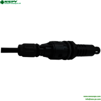 Competitive New Designed Compatible Dc Solar Inline 1500v Dc Panel Fuse Connector Cable End