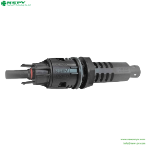 Modern Home Use Solar System Pv Fuse Connector Removeable Female Fuse Connector