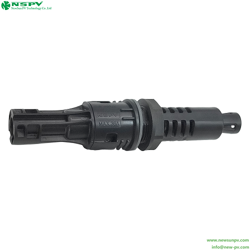 New Pv4.0 Protective Ppe/pa Insulation Solar 1500v Dc Fuse Connector Pluggable Fuse Connector Male End