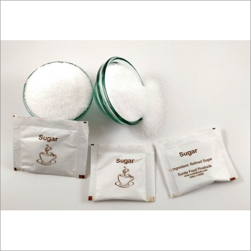 White Sugar Paper Pouches Pack of 100 Pouches