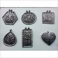 925 Silver Jewellery Oxidised Pendents