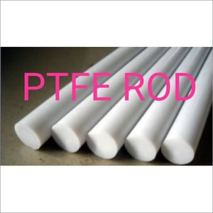 White PTFE Rods Bushes And Sheets