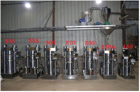 Sesame Oil Hydraulic Press Machine