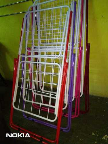 Ms Powder Coated Cloth Drying Stand