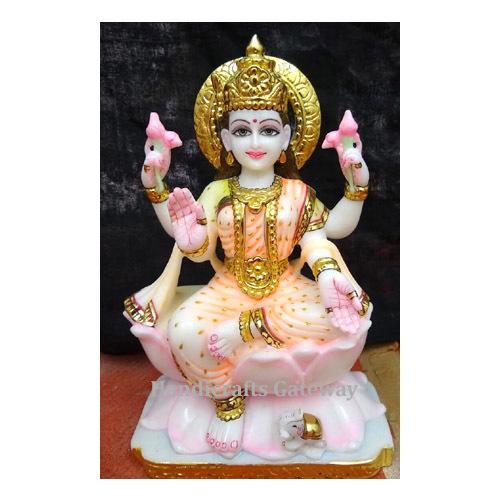 Exclusive Pure Marble Lakshmi Maa Sculpture