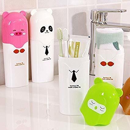 Cute Animal Design Travel Toothbrush Holder