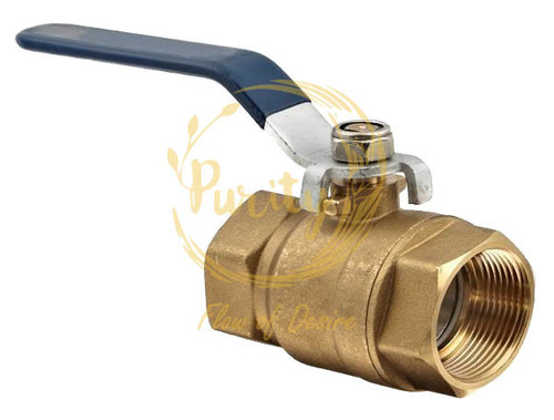 brass 1-4 forged ball valve