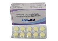 Paracetamol  , Ascorbic Acid  Phenylephrine Hydrochloride  And Pheniramine Maleate Effervescent Tablets
