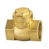 brass forged swing check valve 2by2 inch NRV