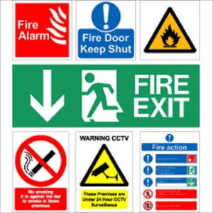 Fire Safety Signages