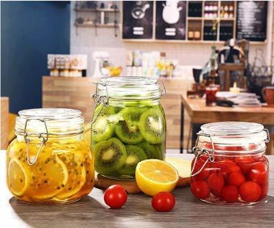 square storage jars clip