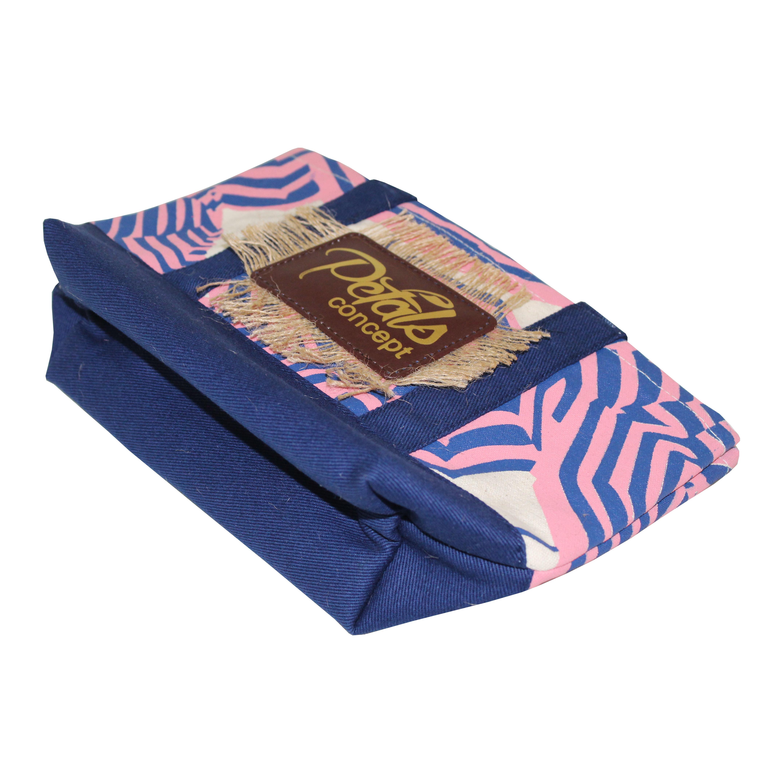 Dyed Canvas Bottom & Handle 12 Oz Natural Canvas Shopping Bag