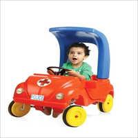 Plastic Kids Beetle Car