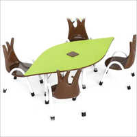 Play School Table With Chair