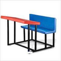 Play School Double Desk Bench