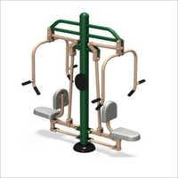 Outdoor Gym Double Chest Presser