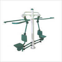 Outdoor Gym Double Chest Cum Seating Puller