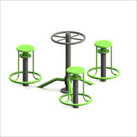 Outdoor Gym Seating Twister