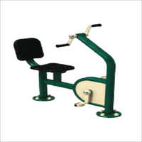 Outdoor Gym Arm and Paddle Bike