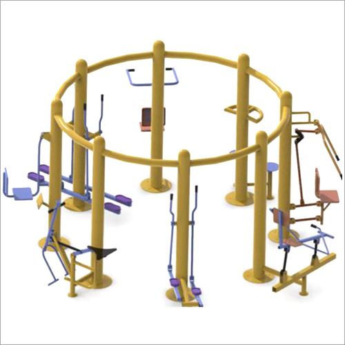 Outdoor Gym Eight Station Open Multigym Machine