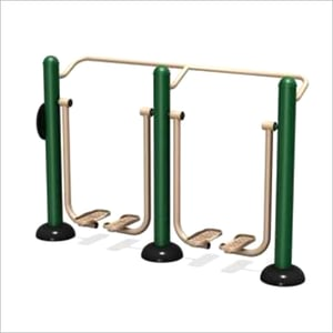 Outdoor Gym Double Air Walker