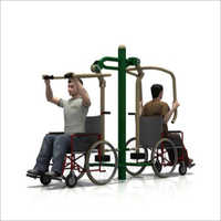 Outdoor Gym Chest Press Cum Seating Puller