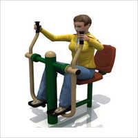 Outdoor Gym Seated Air Walker