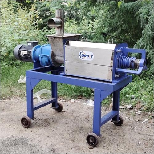 Cow Dung Dewatering Screw Press Machine