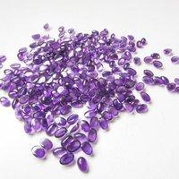 3x5mm African Amethyst Oval Cabochon Loose Gemstones