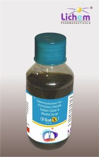 Diphenhydramine HCL Ammonium Chloride Sodium Citrate & Menthol Syrup
