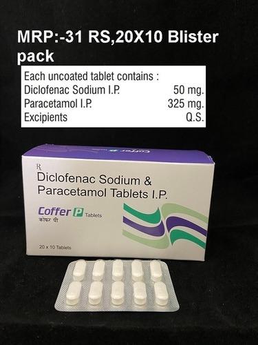 Diclofenac Sodium & Paracetamol Tablets I.P