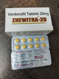 Zhewitra 20, 40, 60 Mg Tablet