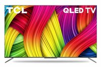 TCL 138.7 cm 55 inches 4K Ultra HD Certified Android Smart QLED TV 55C715 Metallic Black 2020 Model with Voice Control