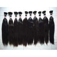 Straight Bulk Color Hair