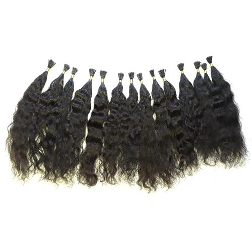 I Tips Wavy Natural Color Hair