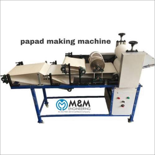 Mathiya Papad Making Machine