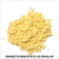 5% Emamectin Benzoate SG Granular