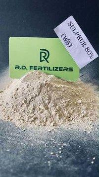80% Sulphur WDG WS