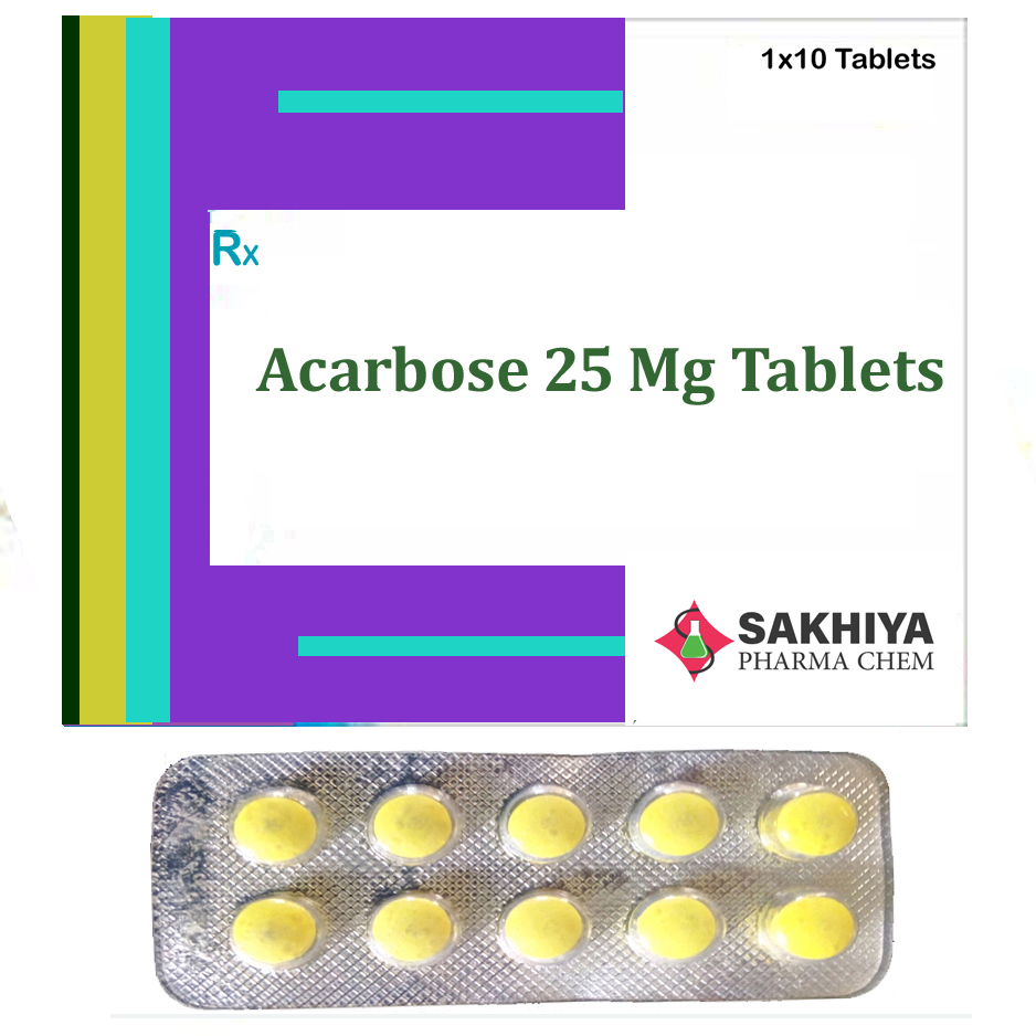 Acarbose 25 Mg Tablets