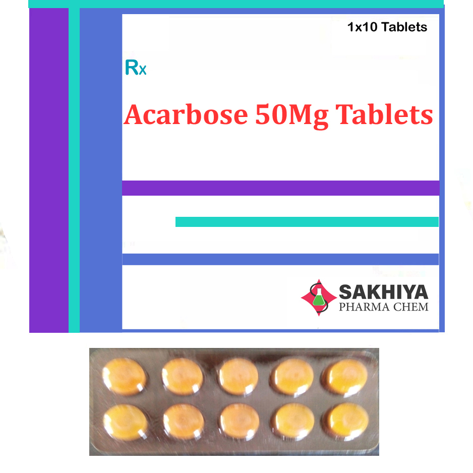 Acarbose 50 Mg Tablets