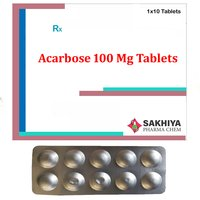 Acarbose 100 Mg Tablets