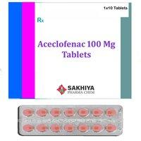 Aceclofenac 100 Mg Tablets