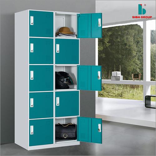 10 Shelves Metal Locker