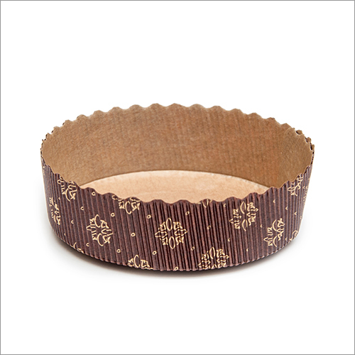 Tortina Panettone Basso Brown Cake Mould
