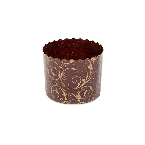 Panettoncino Ghiri Gori Gold Round Baking Moulds