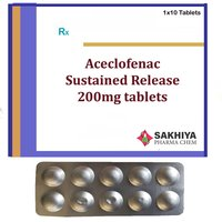 Aceclofenac SR 200mg Tablets
